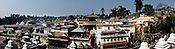A panoramic view of Pashupathi Nath Temple in capital Kathmandu, Nepal