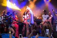 WASHINGTON, DC - MAY 26: Megan Thee Stallion performs live during DC Black Gay Pride powered by Coast2Coast Boyz at Gateway DC on May 26, 2019 in Washington, DC. (Photo by Brian Stukes/ON-SITEFOTOS)