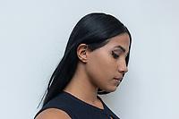 SAO PAULO, SP, 29.07.2018 - CELEBRIDADE-SP - Modelo brasileira de 19 anos, Karen Havary e vista realizando procedimento estético em Sao Paulo para ser reconhecida oficialmente como sosia da cantora norte-americana Nicki Minaj. Karen ja investiu um pouco mais de R$ 200 mil em cirurgias plásticas radicais e procedimentos estéticos para alcançar o objetivo inusitado. (Foto: Fabricio Bomjardim / Brazil Photo Press)