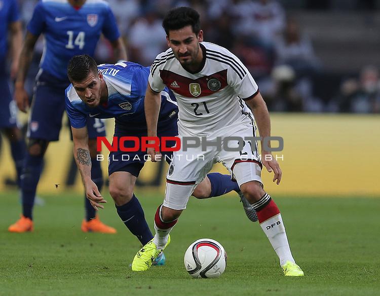 DFB Freundschaftsl&auml;nderspiel, Deutschland vs. USA<br /> Ventura Alvarado (USA), Ilkay G&uuml;ndogan (Deutschland)<br /> <br /> Foto &copy; nordphoto /  Bratic
