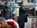 Nederland,Heerenveen  21-05-2015<br /> Play offs  Heerenveen- Feyenoord 1-0<br /> debuut Giovanni van Bronckhorst als hoofdtrainer van Feyenoord werd geen succes.<br /> foto Michael Kooren/