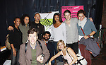 """The cast poses with One Life To Live Renee Elise Goldsberry stars as Princess of France in """"Love's Labor's Lost written by William Shakespeare on October 18, 2011 through November 6 at the Public Theatre, New York City, New York.  (Photo by Sue Coflin/Max Photos)"""