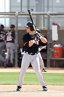 Brock Bond, San Francisco Giants 2010 minor league spring training..Photo by:  Bill Mitchell/Four Seam Images.