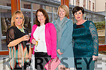 "Noreen Everett, Siobhan Bunyan, Mary Hennessy (Ballybunion) and Lucia Power (Currow) at the ""Fashion Fusion"" in aid of Duggan Family House fire Appeal in the Fels Point Hotel on Saturday"