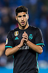 Marco Asensio Willemsen of Real Madrid celebrates the team's victory during the Copa del Rey 2017-18 match between CD Leganes and Real Madrid at Estadio Municipal Butarque on 18 January 2018 in Leganes, Spain. Photo by Diego Gonzalez / Power Sport Images
