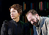 The Master Builder <br /> by Henrik Ibsen adapted by David Hare<br /> at The Old Vic Theatre, London, Great Britain <br /> press photocall <br /> 29th January 2016 <br /> <br /> Ralph Fiennes as Halvard Solness<br /> <br /> Linda Emond as Aline Solness<br /> <br /> <br /> <br /> Photograph by Elliott Franks <br /> Image licensed to Elliott Franks Photography Services