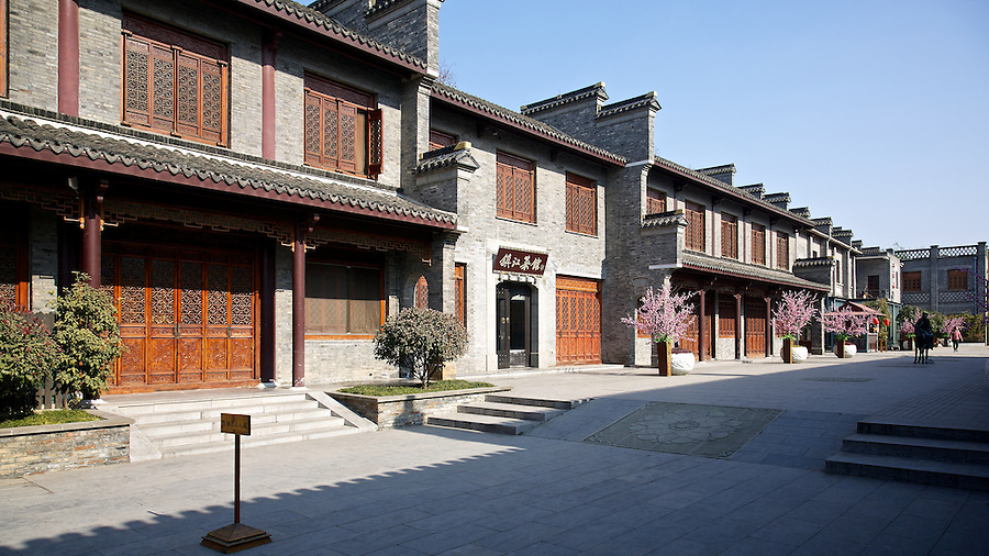 Unidentified Buildings In Zhenjiang (Chinkiang) - Many Of The Lots In The Concession Were Let Or Sold To Local Chinese.