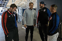 Columbus, OH - Thursday November 10, 2016: The U.S. Men's National team train in preparation for their Hexagonal round match vs Mexico at Training @ Mapfre Stadium