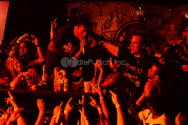 FORT LAUDERDALE FL - OCTOBER 14: Jordan Pundik of New Found Glory performs at Revolution on October 14, 2015 in Fort Lauderdale, Florida. Credit: mpi04/MediaPunch