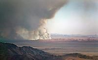 Wildfire near Blythe, Riverside County, California 2006