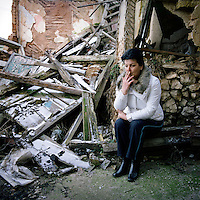 Rape victim Ziba. Between 25,000 and 50,000 women were raped in Bosnia and Hercegovina during the 1992-1995 conflict in the Balkans. Only 11 men have been convicted. The responsibility for future trials has now been handed to the Bosnian Government, who so far have shown little appetite to pursue suspected rapists..©Robin Hammond/PANOS/Felix Features
