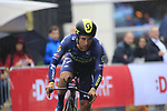 Esteban Chaves (COL) Orica-Scott in action during Stage 1, a 14km individual time trial around Dusseldorf, of the 104th edition of the Tour de France 2017, Dusseldorf, Germany. 1st July 2017.<br /> Picture: Eoin Clarke | Cyclefile<br /> <br /> <br /> All photos usage must carry mandatory copyright credit (&copy; Cyclefile | Eoin Clarke)