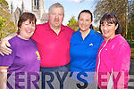 Enjoying the Kerry Together fun walk in aid of Kerry Life Education in Killarney on Sunday were Mary O'Leary with Joe, Emily and Nora Pigott, Killarney..