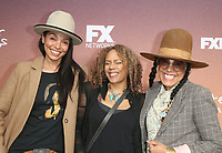 "10 May 2019 - North Hollywood, California - Tamara Taylor, Rachel True, Cree Summer. FYC Red Carpet Event For Season 3 Of FX's ""Better Things"" held at The Saban Media Center. Photo Credit: Faye Sadou/AdMedia"