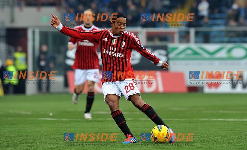 "Urby EMANUELSON (Milan).Cesena 19/02/2012 Stadio ""Dino Manuzzi"".Serie A 2011/2012.Football Calcio Cesena Vs Milan.Foto Insidefoto Alessandro Sabattini."