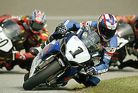 Mat Mladin during the AMA Superbike Championships at the California Speedway