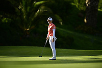 The 2018 Kia Classic Champion Eun-Hee Ji (KOR) on the 17th green during the Final Round at the Kia Classic,Park Hyatt Aviara Resort, Golf Club &amp; Spa, Carlsbad, California, USA. 3/25/18.<br /> Picture: Golffile | Bruce Sherwood<br /> <br /> <br /> All photo usage must carry mandatory copyright credit (&copy; Golffile | Bruce Sherwood)