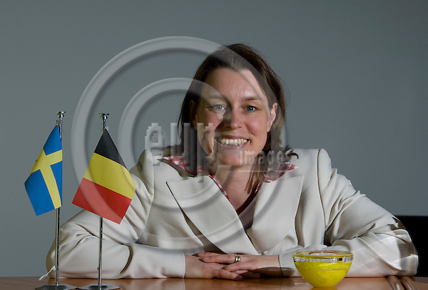 BRUSSELS - BELGIUM - 08 MAY 2008 --  Mara HILDING, Director of the Brussels office of Swedish Trade Council (Eksportraadet, eksportrådet). Photo: Erik Luntang/EUP-IMAGES