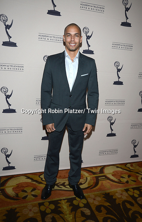 Bryton James attends the Academy Of Television Arts & Science Daytime Programming  Peer Group Celebration for the 40th Annual Daytime Emmy Awards Nominees party on June 13, 2013 at the Montage Beverly Hills in Beverly Hills, California.
