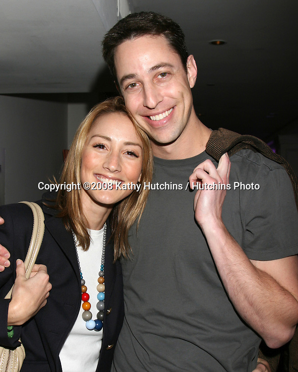 Bree Turner & Fiance.GBK Productions Oscar Gifting Suite.Boulevard3.Los Angeles, CA.February 23, 2008.©2008 Kathy Hutchins / Hutchins Photo....