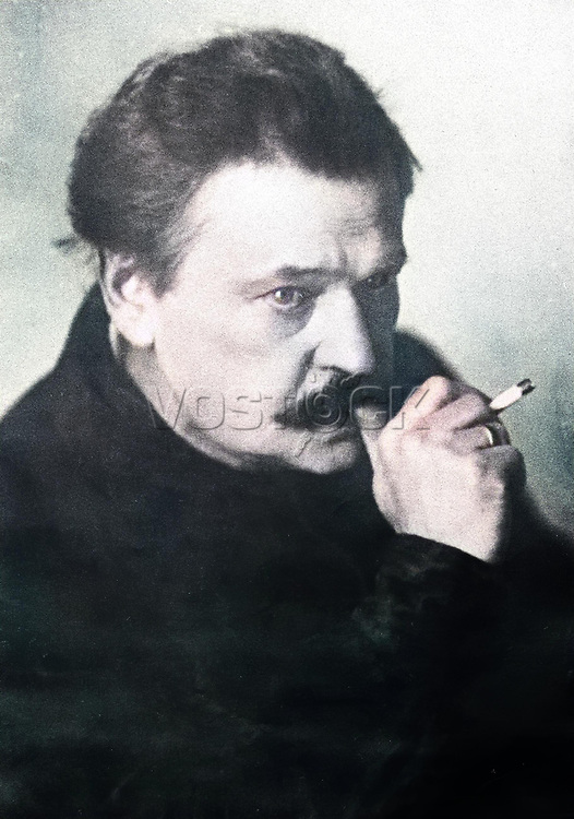 Prominent animal trainer Vladimir Durov (1863-1934).