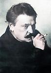 Prominent animal trainer Vladimir Durov (1863-1934).