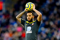 11th January 2020; King Power Stadium, Leicester, Midlands, England; English Premier League Football, Leicester City versus Southampton; Ryan Bertrand of Southampton prepares to take a throw-in - Strictly Editorial Use Only. No use with unauthorized audio, video, data, fixture lists, club/league logos or 'live' services. Online in-match use limited to 120 images, no video emulation. No use in betting, games or single club/league/player publications