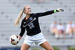 29 September 2013: Duke's Ali Kershner. The Duke University Blue Devils hosted the Virginia Tech University Hokies at Koskinen Stadium in Durham, NC in a 2013 NCAA Division I Women's Soccer match. The game ended in a 1-1 tie after two overtimes.