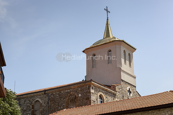 The Dormition of Theotokos Church, Nessebar, Bulgaria  June 2015.<br /> CAP/MEL<br /> &copy;MEL/Capital Pictures /MediaPunch ***NORTH AND SOUTH AMERICA ONLY***