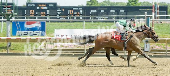 J J Garber winning at Delaware Park on 7/12/11