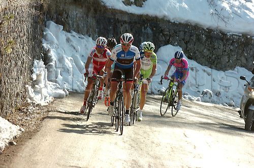 16.03.2012 Cycling Tirreno - Adriatic. Stage 05 Martinsicuro to Prati di Tivo. Picture shows Christopher Horner.