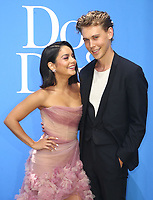 CENTURY CITY, CA - AUGUST 5: Vanessa Hudgens and Austin Butler at the Dog Days World Premiere at The Atrium in Century City, California on August 5, 2018. <br /> CAP/MPI/FS<br /> &copy;FS/MPI/Capital Pictures