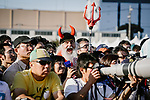 Didi the Devil makes an appearance amongst the fans at the media day before the 2018 Saitama Criterium, Japan. 3rd November 2018.<br /> Picture: ASO/Pauline Ballet | Cyclefile<br /> <br /> <br /> All photos usage must carry mandatory copyright credit (© Cyclefile | ASO/Pauline Ballet)