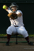 25 October 2007: Stanford Cardinal Brittany Minder during Stanford's 5-4 loss in seven innings against the San Jose State Spartans at Boyd & Jill Smith Family Stadium in Stanford, CA.