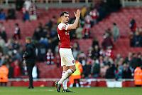 Granit Xhaka of Arsenal after Arsenal vs Southampton, Premier League Football at the Emirates Stadium on 24th February 2019