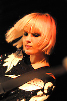 Danish singer Sharin Foo of the Raveonettes performs at Maxwells in Hoboken , NJ