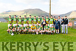 Lispole team before the West Kerry semi final against An Ghaeltacht at Annascaul GAA Grounds on Sunday afternoon.