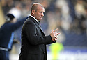 17/10/2009  Copyright  Pic : James Stewart.sct_jspa27_falkirk_v_st_mirren  . :: ST MIRREN MANAGER GUS MACPHERSON DURING THE GAME AGAINST FALKIRK :: .James Stewart Photography 19 Carronlea Drive, Falkirk. FK2 8DN      Vat Reg No. 607 6932 25.Telephone      : +44 (0)1324 570291 .Mobile              : +44 (0)7721 416997.E-mail  :  jim@jspa.co.uk.If you require further information then contact Jim Stewart on any of the numbers above.........
