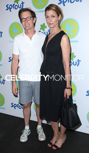 NEW YORK CITY, NY, USA - JUNE 04: Kyle MacLachlan, Bridget Moynahan at the 2014 Baby Buggy Bedtime Bash Hosted By Jessica And Jerry Seinfeld - Sponsored By Sprout on June 4, 2014 in New York City, New York, United States. (Photo by Jeffery Duran/Celebrity Monitor)