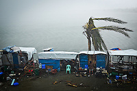 Aux Philippines il y a plus d'une quinzaine de typhons par an. La population est donc habituée aux tempêtes et catastrophe naturelles mais jamais ils n'ont vécu un typhon d'une telle puissance. Tacloban, Novembre 2013. VIRGINIE NGUYEN HOANG