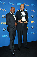 John Singleton &amp; Dwight Williams at the 70th Annual Directors Guild Awards at the Beverly Hilton Hotel, Beverly Hills, USA 03 Feb. 2018<br /> Picture: Paul Smith/Featureflash/SilverHub 0208 004 5359 sales@silverhubmedia.com