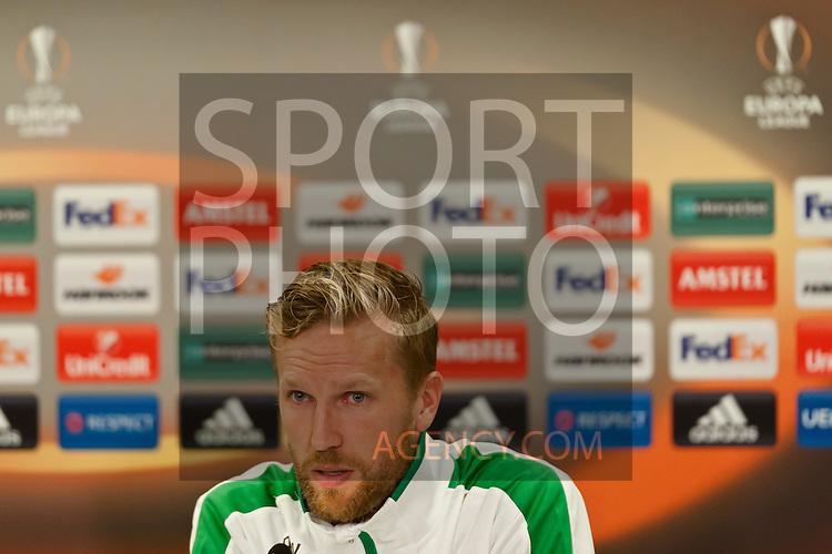 Voetbal: 16-9-2015,UEFA, Fc Groningen vs Olympique de Marseille, persconferentie Fc Groningen, Rasmus Lindgren of FC Groningen,