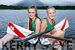 Ciara Browne and Ciara Moynihan Workmens RC rowers who rowed for Ireland at the Home Nations rowing championships in Scotland last week