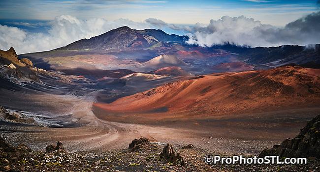 Haleakalā National Park in Maui, Hawaii