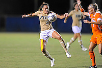 21 August 2011:  FIU's Chelsea Leiva (2) recovers the ball in the second half as the University of Florida Gators defeated the FIU Golden Panthers, 2-0, at University Park Stadium in Miami, Florida.