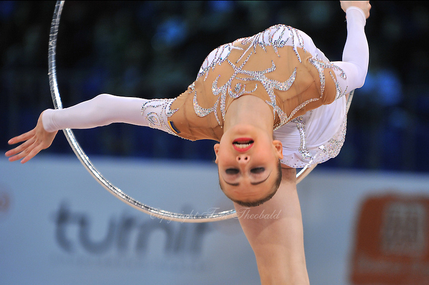 "VIKTORIA SHYNKARENKO of Ukraine performs at 2011 World Cup Kiev, ""Deriugina Cup"" in Kiev, Ukraine on May 08, 2011."