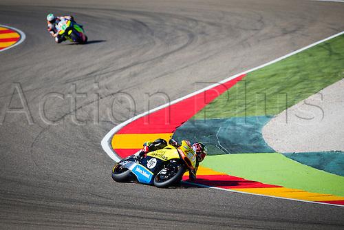 24.09.2016. Motorland Aragon, Alcaniz, Spain. MotoGP Grand Prix of Aragon. Qualifying.  Edgar Pons (ESP), Paginas Amarillas HP 40 rider,