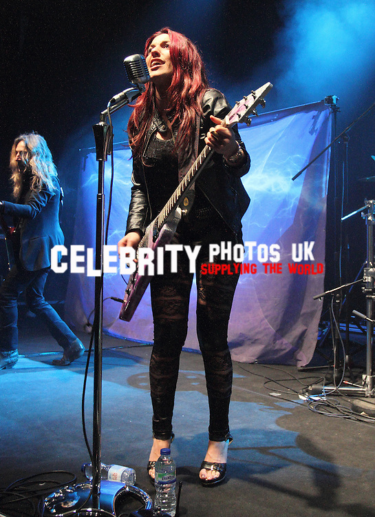 Fyre supporting Anastacia at the O2 Shepherd's Bush Empire, London 23rd january 2015