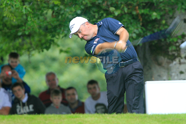 Damien McGrane tees off on the 14th tee during Day 2 of the 3 Irish Open at the Killarney Golf & Fishing Club, 30th July 2010..(Picture Eoin Clarke/www.golffile.ie)