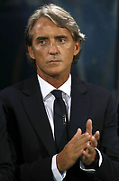 Football: Uefa Nations League match Italy vs Poland, Renato Dall'Ara stadium, Bologna, Italy, September 7, 2018. <br /> Italy's national team coach Roberto Mancini prior to the Uefa Nations League match between Italy and Poland at the Renato Dall'Ara stadium, Bologna, Italy, September 7, 2018. <br /> <br /> UPDATE IMAGES PRESS/Isabella Bonotto